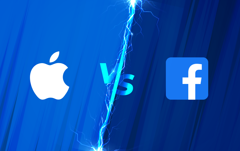 """Cuộc chiến về bảo mật dữ liệu ngày một """"nóng"""" giữa Facebook và Apple"""