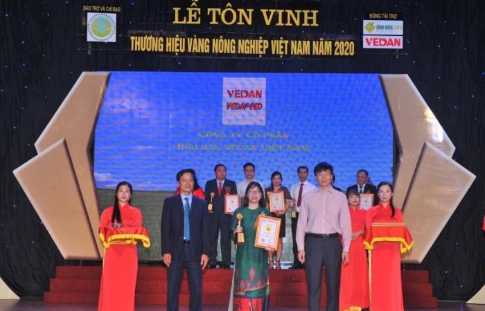 Vedan Việt Nam lần thứ 5 liên tiếp được tôn vinh