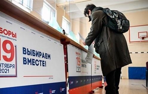 Bầu cử Duma Quốc gia Nga: Đảng cầm quyền tạm thời dẫn đầu